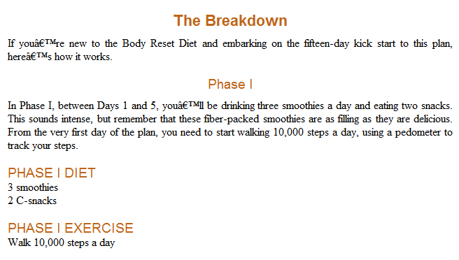 Download The Body Reset Diet By Harley Pasternak Free